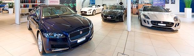 Showroom Jaguar